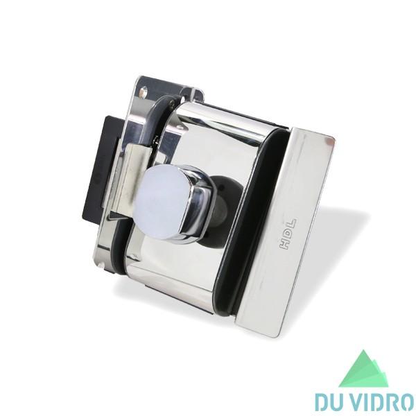 Fechadura Elétrica para Porta de Vidro HDL V/A PV90 1R B CROMADA