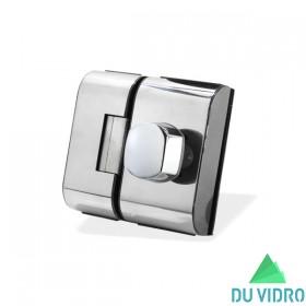Fechadura Elétrica para Porta de vidro HDL V/V PV90 2R B Cromada