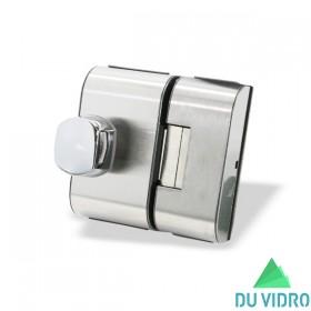 Fechadura Elétrica para Porta de Vidro HDL V/V PV90 2R B Escovada