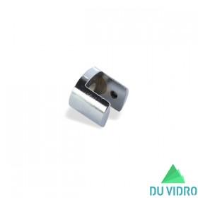 Botão Fenda Zamac 16 mm Cromado